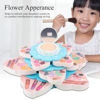 new Disney girls princess frozen elsa anna Cosmetic Set With original box FlowerPretend Play Makeup Toys for kids gift