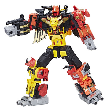 Hasbro 5in1 Transformers Voyager Class Predacon Collectible Autobots Predaking Power of The Prime Car Robots Models Collection 2