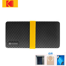 KODAK – disque dur externe ssd X200 Type C usb 3.1 Gen 2, 1 to, 512 go, 256 go, 128 go, pour MacBook PC