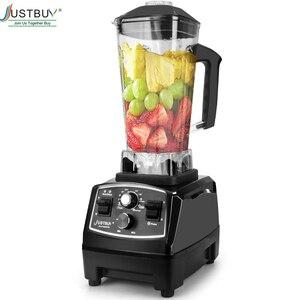 Image 1 - BPA Free 3HP Heavy Duty Blender do zastosowań komercyjnych mikser sokowirówka High Power robot kuchenny Ice Smoothie Bar owoce Blender elektryczny