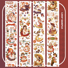 1Loop 5cmx100cm Washi Tape Portuguese Sweetheart New Tape Decorate Girl Characters