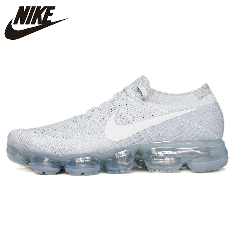Nike Running Shoes Air VaporMax Flyknit Women's Shoes Outdoor Sports Breathable Cushioning Sneakers 849558-004