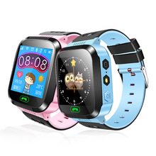 цена на Children Smart Watch Kid Smartwatch Touch Screen SOS Call LBS Tracking Location Finder Kids Baby Smart Watch