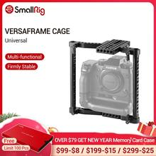 SmallRig אוניברסלי מצלמה VersaFrame כלוב עבור Canon/ניקון/סוני/פנסוניק GH3/GH4/Fujifilm DSLR מצלמות עם סוללה גריפ 1750