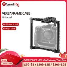 SmallRig jaula Universal para cámaras Canon/Nikon/Sony/Panasonic GH3/GH4/Fujifilm DSLR, con empuñadura de batería, 1750