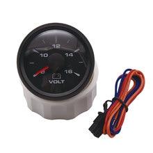 2 ''52 мм Универсальный Автомобильный вольтметр 8-16 в лодочный измеритель напряжения автомобиля цифровой 7 цветов подсветка 12 В painel цифровой мото
