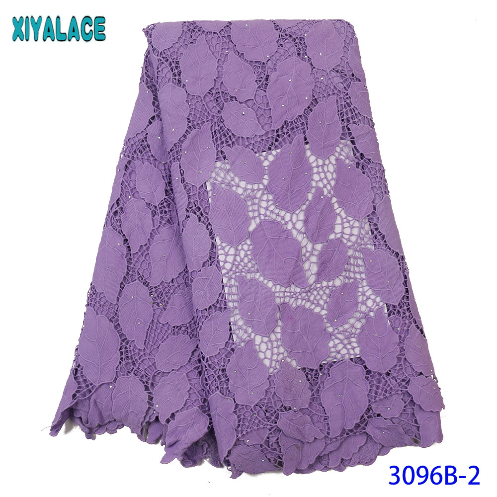 XIYA Lace African Lace Fabric High Quality Cord 2019 Nigerian Lace Fabric Wedding French Tulle Net Lace Fabric For Women KS3096B