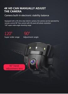Image 4 - KY601G Drone GPS 4K HD kamera 5G WIFI FPV MV üretim katlanabilir Selfie Drones profesyonel 1800m kontrol mesafe RC dört pervaneli helikopter