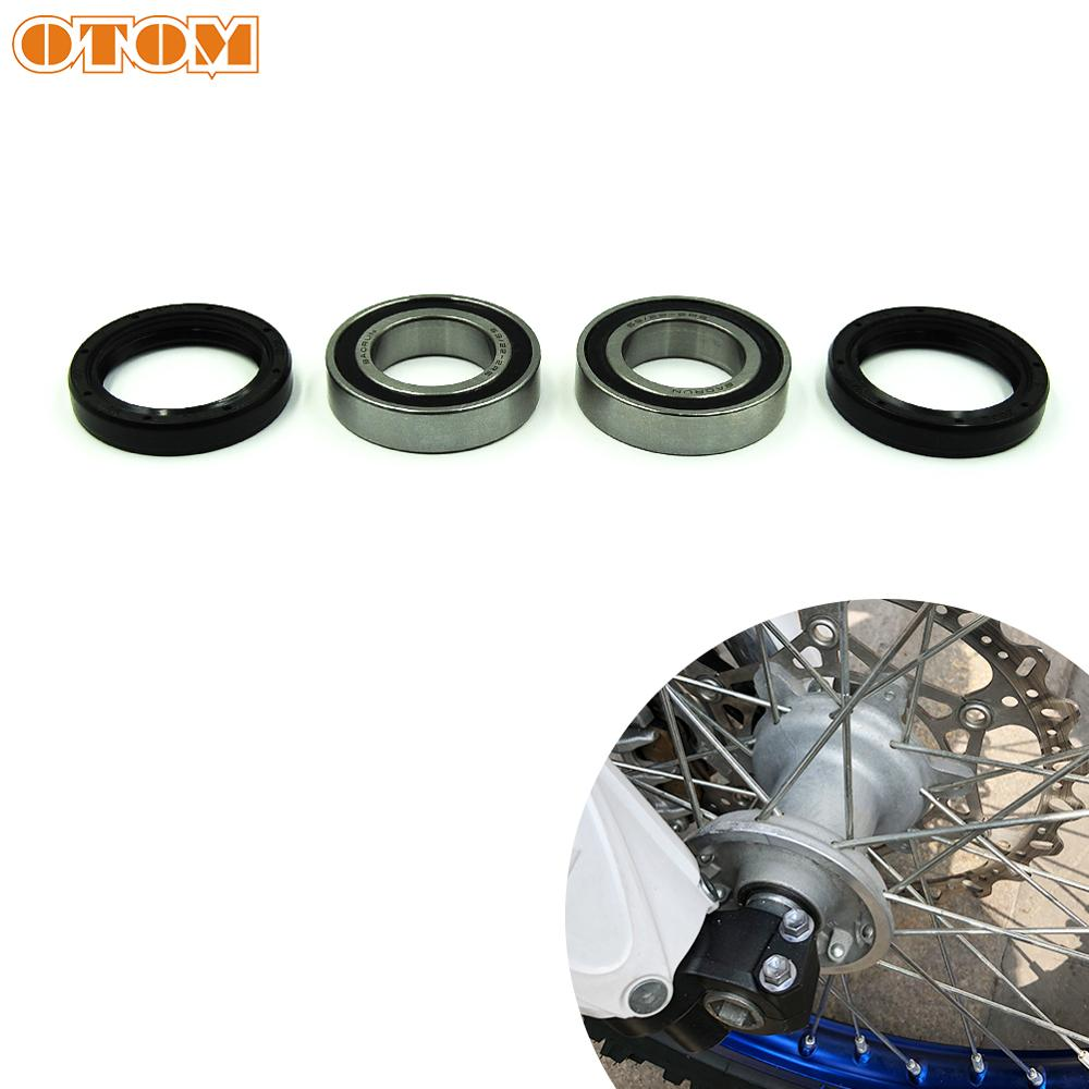 OTOM Motorcycle 30*40*7 Oil Seal And Front Wheel Hub Steering Roller Bearings 69/22 For YAMAHA YZ125 YZ250 YZ250F YZ400F YZ 450F