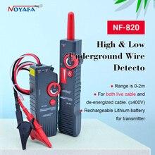 Probador de Cable subterráneo NF 820 RJ45 RJ11 BNC, probador de Cable de alta y baja tensión, localizador de Cable antiinterferencia, NF_820