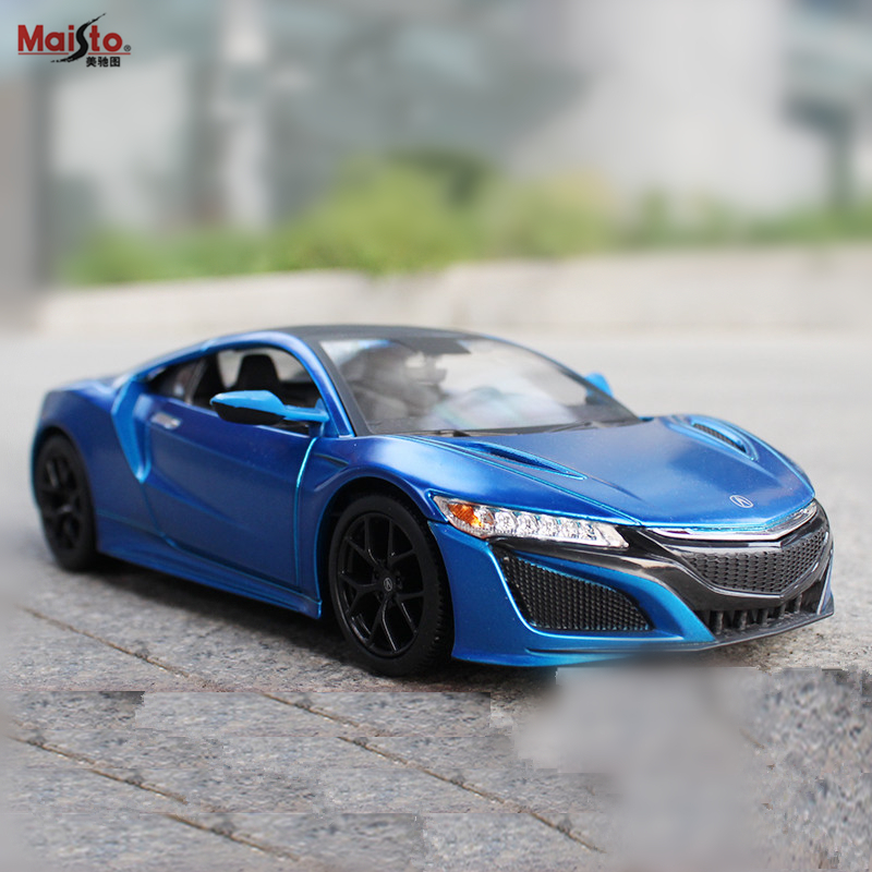 Maisto 1:24 Honda Acura Alloy Racing Convertible alloy car model simulation decoration collection gift toy