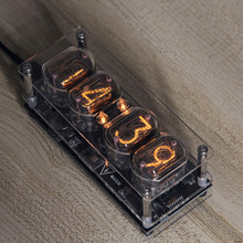Nixie Clock Glow-Tube DS3231 IN-12 LED RGB 4-Bit Seven-Color