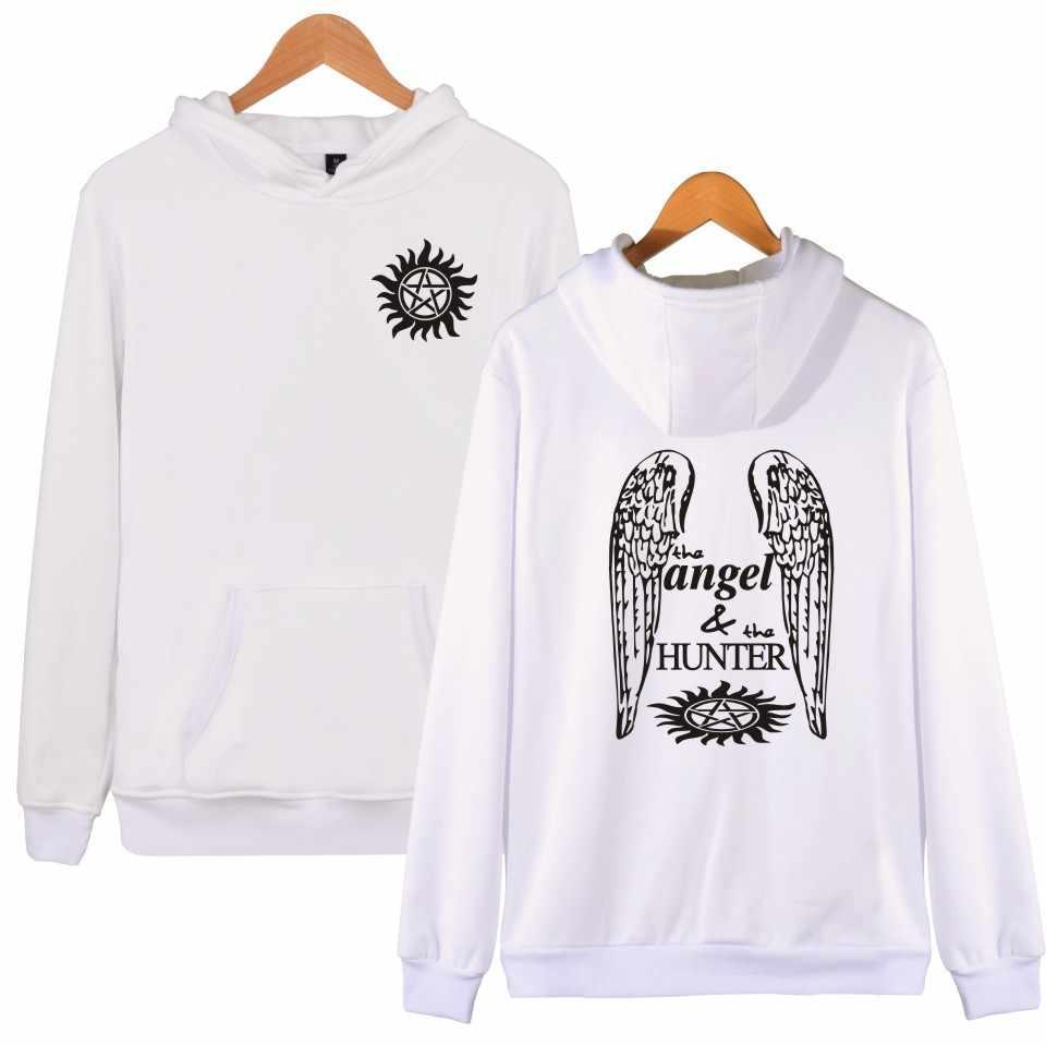 Nadprzyrodzone anioł i Hunter 3D bluzy mężczyźni kobiety Aikooki nowy gorący moda popularne marki mody nadprzyrodzone 3D bluzy Pop top