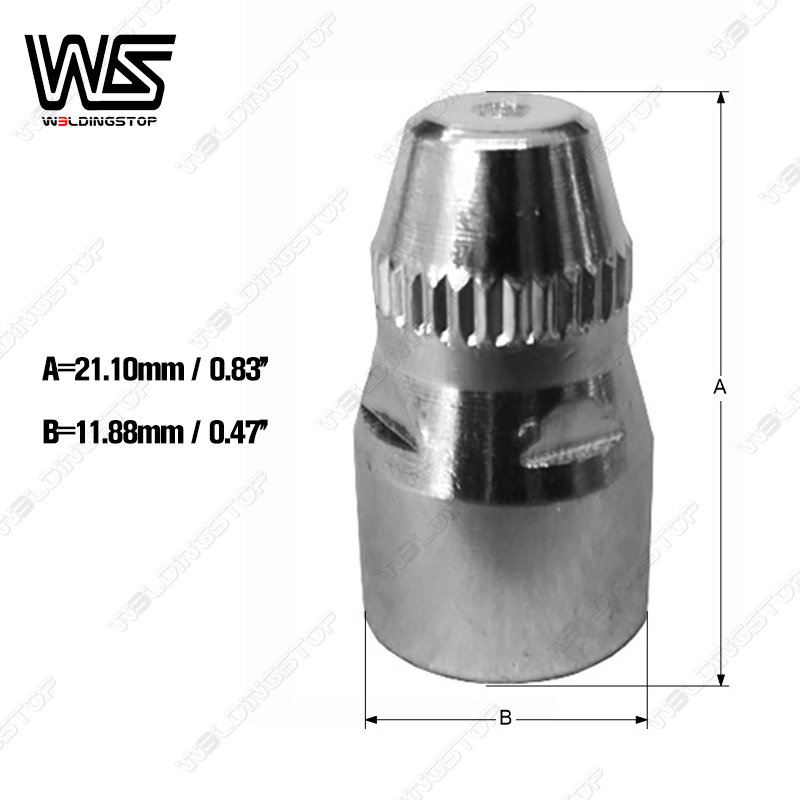 Tools : P80 plasma cutter torch consumables Hafnium electrode  amp  1 1mm nozzle tips 40 pcs