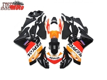 цена на Motorcycle Fairing Kit For Honda CBR250R 2011 2012 2013 Injection ABS Plastic Fairings CBR 250R 11 12 13 Gloss Repsol Bodyworks