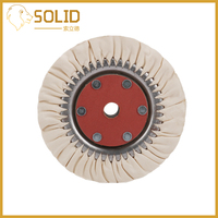 Cotton Airway Buffing Wheel Polishing Buffing Grinding Wheel for Abrasive Polishing Tool 200mm 1Pc Cloth Hole 20mm
