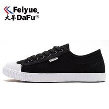 DafuFeiyue Vintage zapatos con lona vulcanizada negro blanco para hombres mujeres zapatos clásicos de Skateboarding deportes al aire libre Durable 520