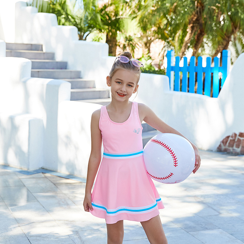 2019 New Style One-piece Big Boy Fashion One-piece Swimming Suit Beach Hot Springs KID'S Swimwear Manufacturers Direct Selling F