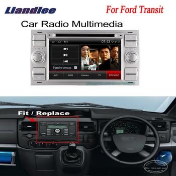 Liandlee 2 din Автомобильный Android GPS для Ford Transit 2006 ~ 2010 Android навигация navi карты CD DVD palyer Радио HD экран OBD2 ТВ