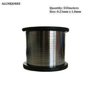 Image 2 - ALLMEJORES fil de tabulation solaire fil de barre omnibus PV ribbion panneau solaire fil de soudure cuivre avec étain livraison gratuite