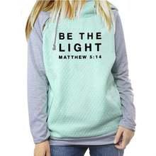 Повседневный хлопковый женский свитер с буквенным принтом светильник
