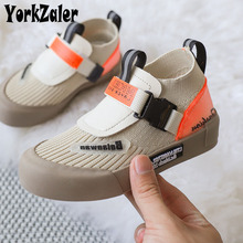 Yorkzaler Spring Autumn Kids Sneakers For Girls Boys High Top Breathable Children Sport Shoes Toddler Baby Casual Shoes 27-37