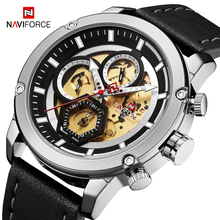 Get more info on the 2019 Fashion Style Men Watches NAVIFORCE Brand Luxury Men's Analog Quartz Wrist watches Man Sport Chronograph Relogio Masculino