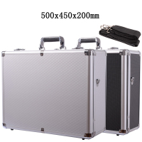 500x400x200mm Aluminum alloy Tool Case Portable Safety Equipment instrument case file Suitcase Outdoor Safety Equipment box Vehicle Kit Box