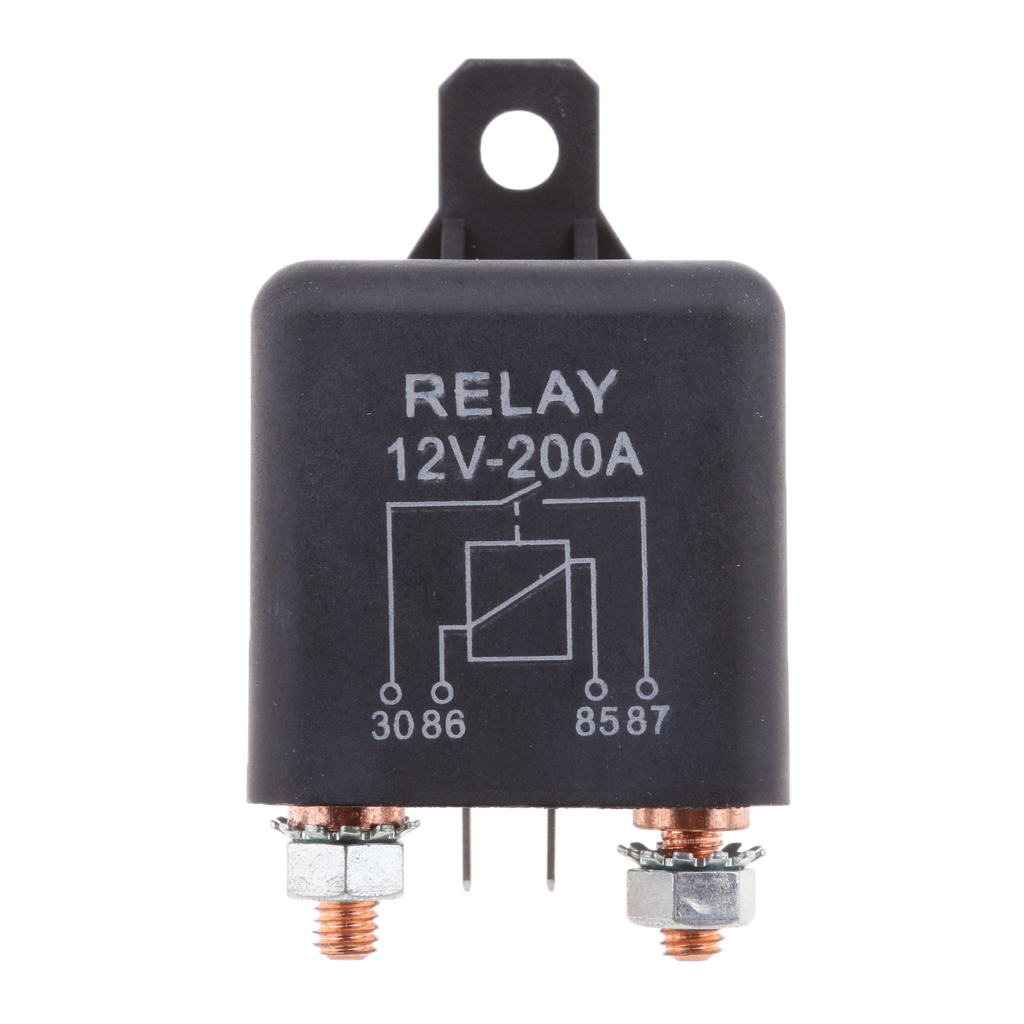12V 4-PIN 40A STANDARD AUTOMOTIVE MARINE CAR REPLACEMENT ACCESSORY RELAY SWITCH