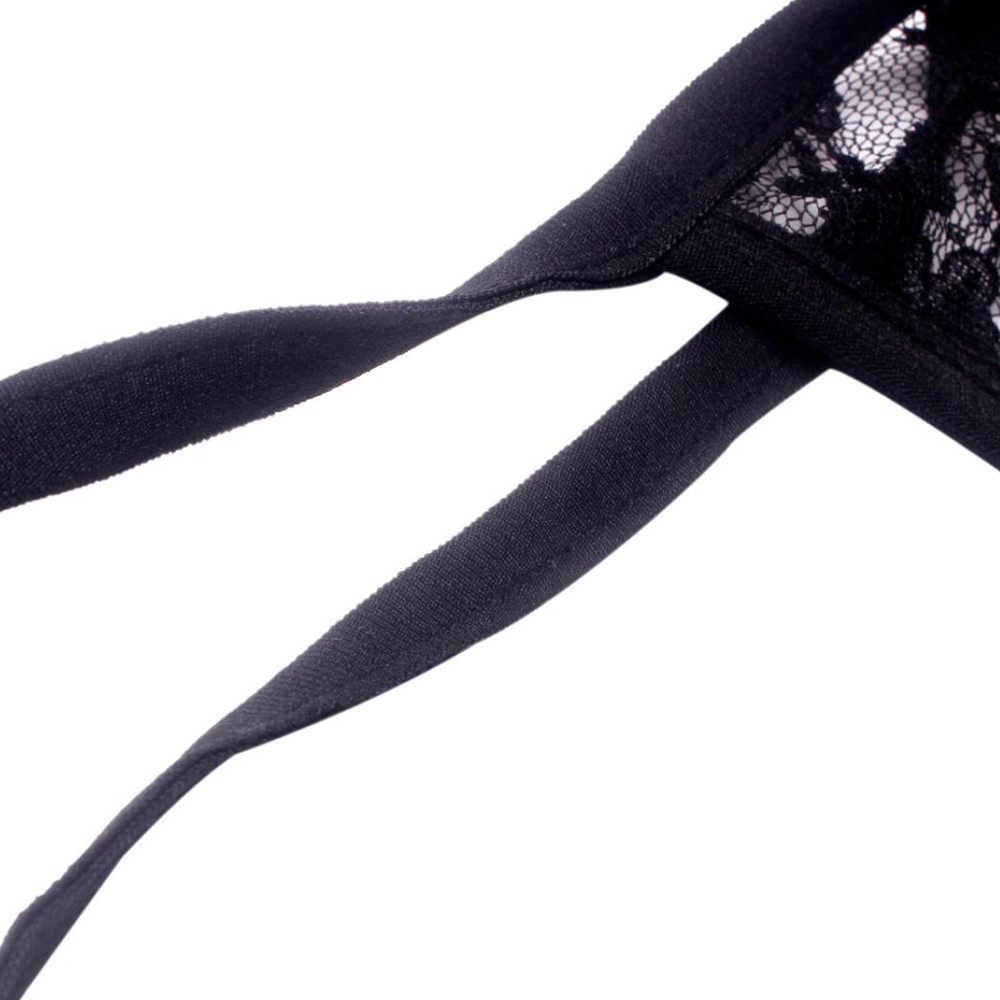 Fashion Women Strap Translucent Women Lace Lingerie Briefs Underwear Underwear Women Lingerie Lace Sexy Bra Panties Sleepwear