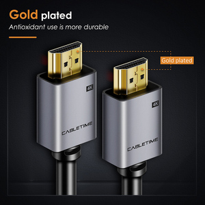 Image 4 - CABLETIME HDMI Cable 2.0 2.1 8K 4K 60Hz HDMI to HDMI Cord for PS4 TV 4K Splitter Switch Box Extender Video Cabo Cable HD C248