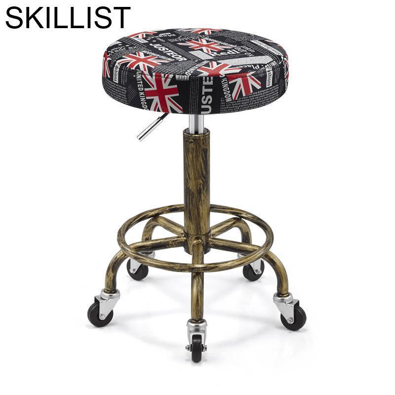 Nail Barbeiro Stuhl Schoonheidssalon Stoelen Beauty Sedia Hair Salon Furniture Barbearia Cadeira Silla Barbershop Barber Chair