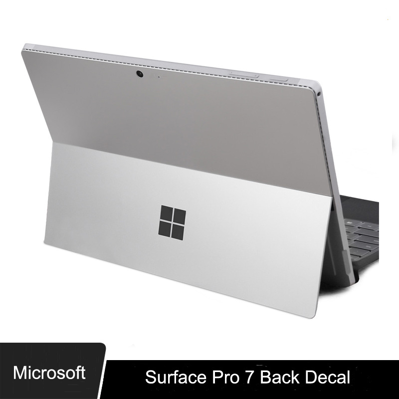 XSKN For Microsoft Surface Pro 7 Ultra Thin Space Grey Back Decal Skin Protector Sticker