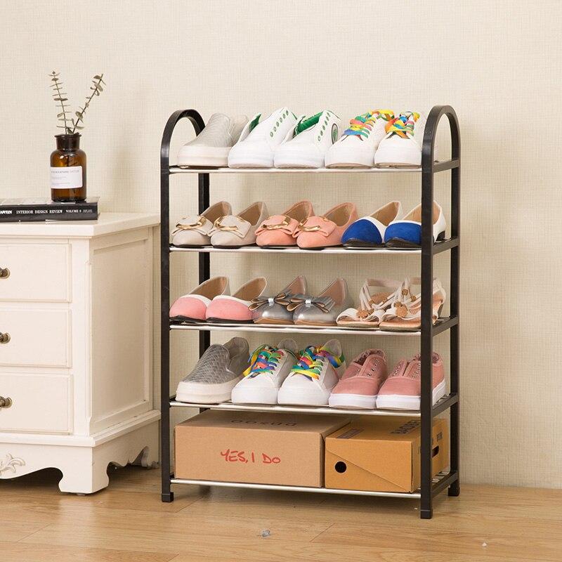 Moderno hogar zapatos organizador zapatos simples armario para zapatos montaje gratis muebles plegables multi-propósito Zapatero Estrella deseo moderna bola de cristal nórdico luces de mesa Retro Vintage lámpara de escritorio E27 desván para dormitorio junto a la lámpara Oro Negro enchufe de la UE