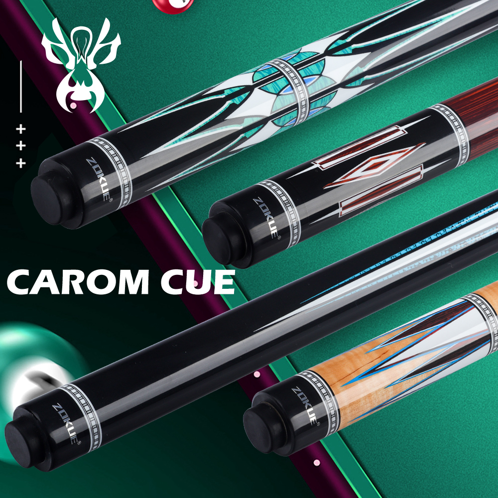 ZOKUE Carom Billiard Cue Korean 3 Cushion Cue Carom Cue Taper 12mm SKY-FAY Tip 142 Cm Carom Stick Fit Extension Cheap Price