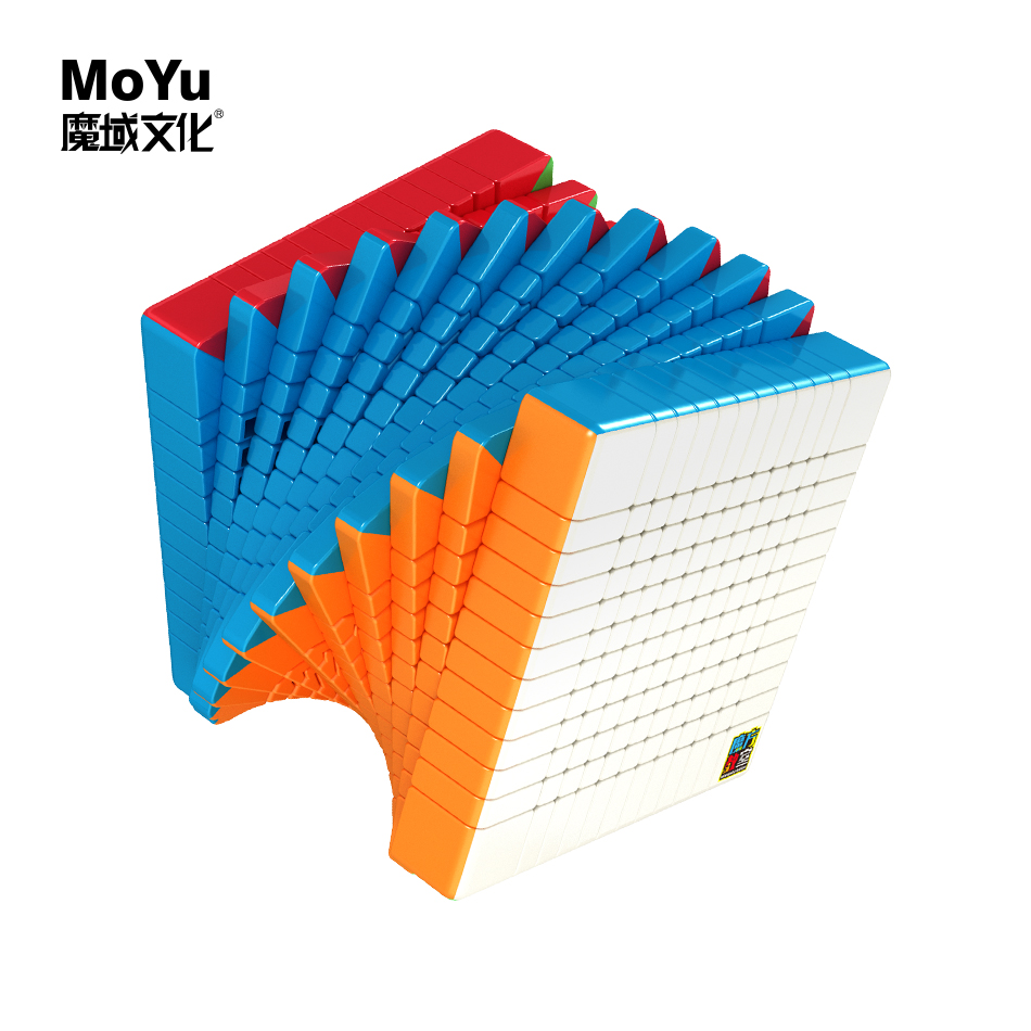 Moyu cubing classe meilong 12x12x12 Cube magique vitesse 12x12 cubo Mofangjiaoshi - 2