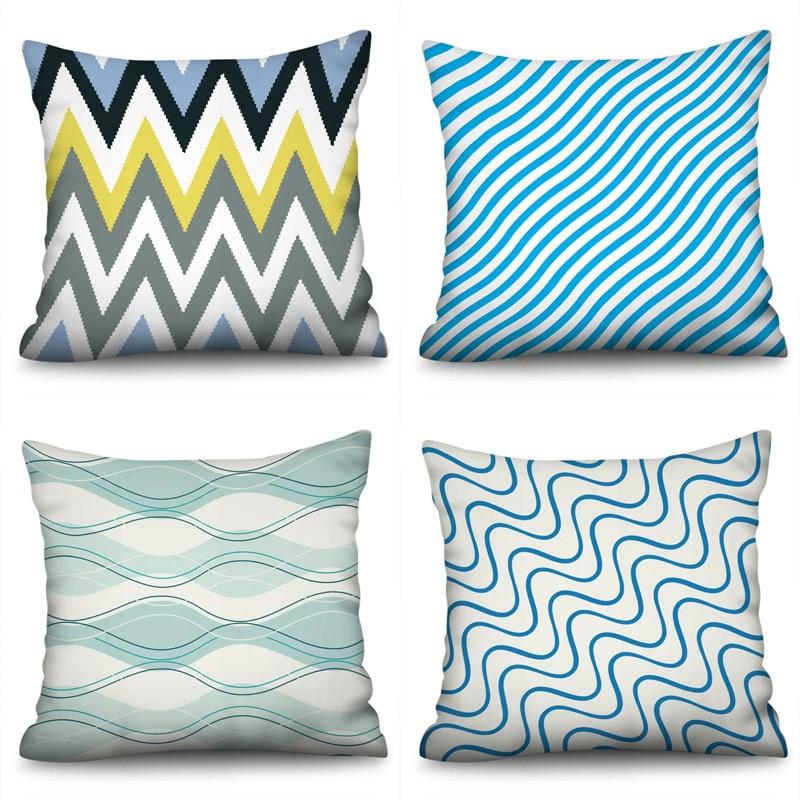 Geometric Nordic Cushion Cover decorative cushion Throw Pillow Polyester Case Sofa Bed Decorative Pillowcase