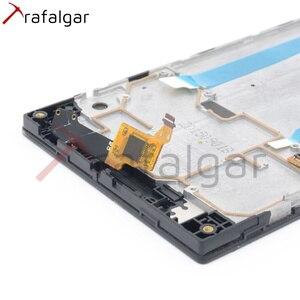 Image 5 - Trafalgar ЖК дисплей для Lenovo P70, сенсорный экран с дигитайзером для Lenovo P70, сенсорный экран с рамкой для Lenovo P70, сменный дисплей с рамкой, для P70 A