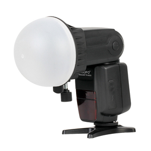 Image 3 - Triopo Flash Magnetic Dome Honeycomb Grid Ball Diffuser Color Filter Speedlite Accessories Kit for Godox Yongnuo Flashlight