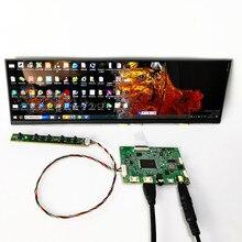 12.6 inç LCD ekran modülü kiti HDMI uyumlu 1920*515 ahududu Pi için ekran bilgisayar sıcaklık bellek ekran DIY kitleri