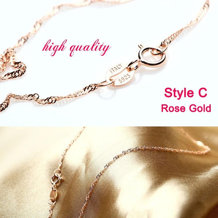 Style C Rose God