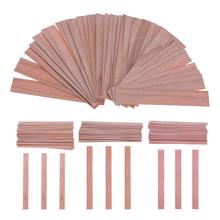 50pcs Wood Wicks Candles Core for Candles Soy or Palm Wax Candle Making Supplies DIY Pick