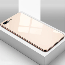 All-inclusive Anti-drop Plating Mirror Mobile Phone Case Compatible for iPhone 6 6S 7 8 X XS Max XR GV99