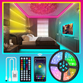 Bluetooth Светодиодные ленты светильник s 20 м Luces светодиодный светильник RGB 5050 SMD 2835 гибкий Водонепроницаемый Светодиодная лента диод DC 12V Управл...