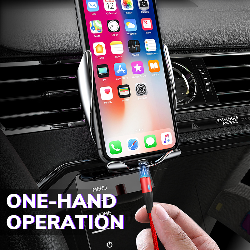 TOPK Magnetic USB Type C Cable Fast Data Charging 8pin Cable for iPhone Magnetic charger Micro USB 5pin cable for Samsung note8 in Mobile Phone Cables from Cellphones Telecommunications