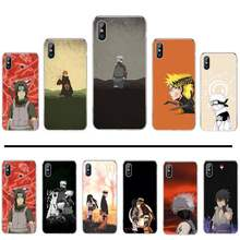 Naruto Kakashi Sasuke Japon Anime Impression Téléphone Coque de protection Pour iphone 4 4s 5 5s 5c se 6 6s 7 8 plus x xs xr 11 pro max(China)
