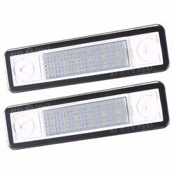 2 pces led número da placa de licença luz para opel para corsa b astra f g para vectra