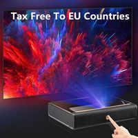 Proyector WEMAX A300 4K Ultra corto Proyector láser 3840*2160 9000 ANSI Lumen ALPD TV Home Theater soporte 3D con altavoz