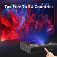 WEMAX A300 4K Projector Ultra Short Throw Laser Projector 3840*2160 9000 ANSI Lumen ALPD TV Home Theater Support 3D With Speaker