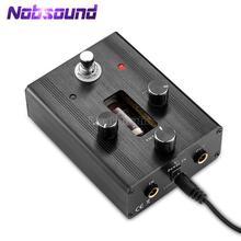 Petit ours G3 6N4 J Tube à vide guitare basse Overdrive lecteur Gain pédale Stomp effecteur amplificateur